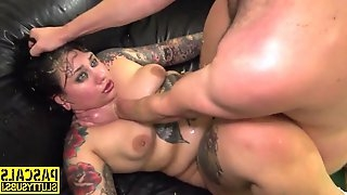 Kinky fatty bitch got laid