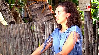 Dutch Moluccan Jomy Surisiay & Kimberley Lilipaly in Adam zkt Eva VIPS
