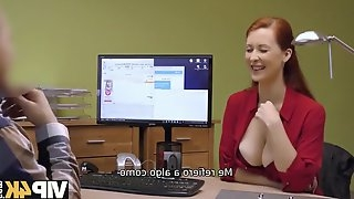 Vip4k. agent screws busty redhead isabella lui because
