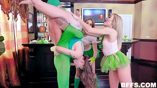 People in funny still wet behind the ears costumes gain in value about-face gangbang party