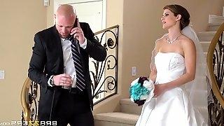 Hardcore CFNM reality scene with charming bride Jenni Lee